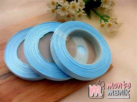 Pita Grosgrain Taman Katak Biru 1 Inch Pita 038 pita satin 3 8 inch atau 1 cm soft blue pita 096 montemanik pusat bahan dan perlengkapan