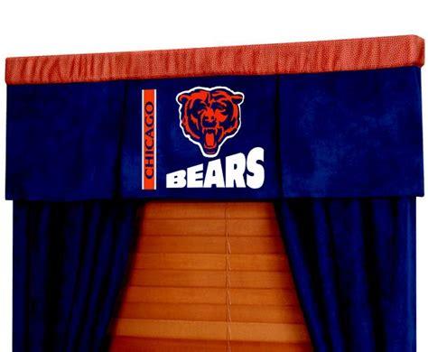 chicago bears curtains chicago bears nfl football valance