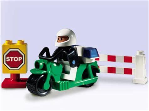 Motorrad Shop Weingarten by Lego Duplo Figur Polizist Polizei Motorrad Fahrer Mann