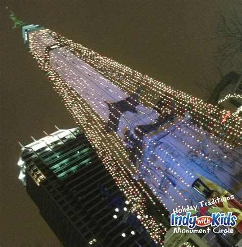 downtown indy inc s circle of lights indy with kids