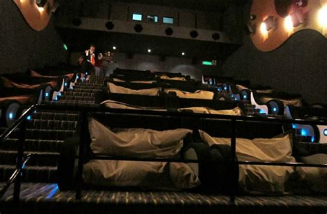 movies theaters with couches is this the world s most comfortable movie theater