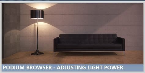 podium lighting fixtures tip