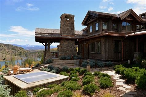 a frame home designs heavy and timber frame custom home c lazy u ranch