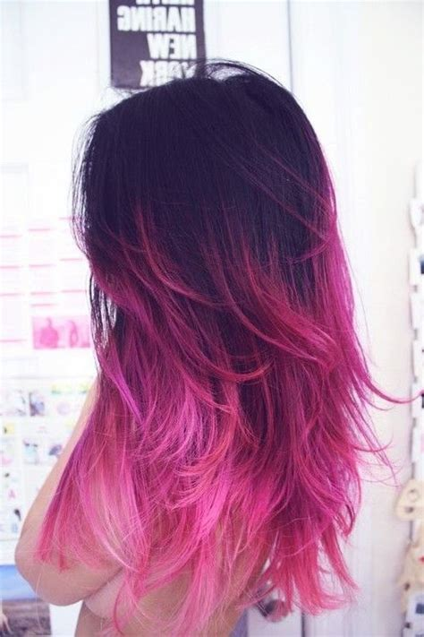 colored ombre hair best 25 ombre hair color ideas on ombre hair