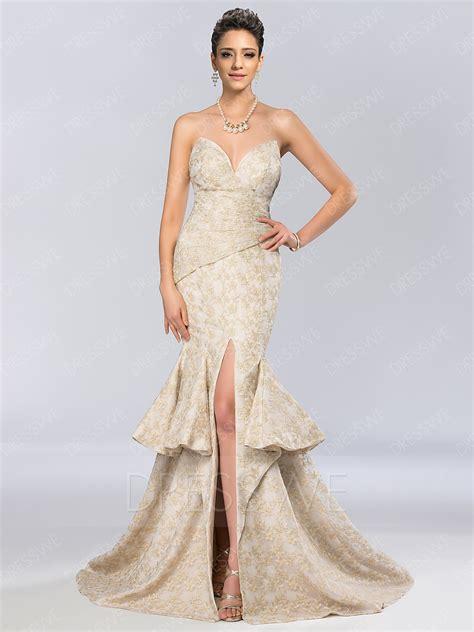 designer dress unique mermaid lace prom dress 11239765 designer dresses
