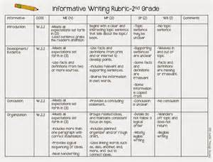 Rubric For Research Paper 2nd Grade by Research Report Rubric 2nd Grade