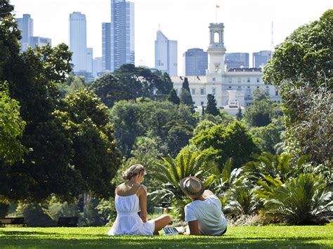 Royal Botanic Gardens Melbourne Parking with Royal Botanical Gardens Rydges Melbourne Cbd