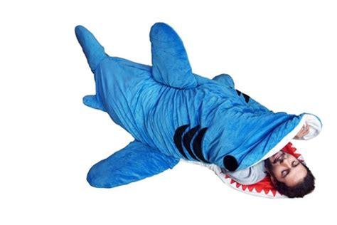giant stuffed shark sleeping bag chumbuddy 3 adult giant shark sleeping bag and designer