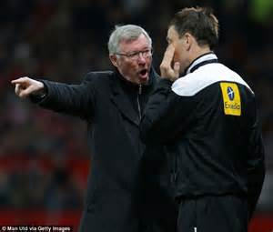 Hairdryer Ferguson clattenburg return to chelsea if fans criticise him they may pay consequences graham