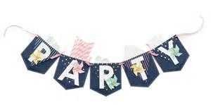 Warm Home Decor by Party Pocket Banner We R Memory Keepers Blog
