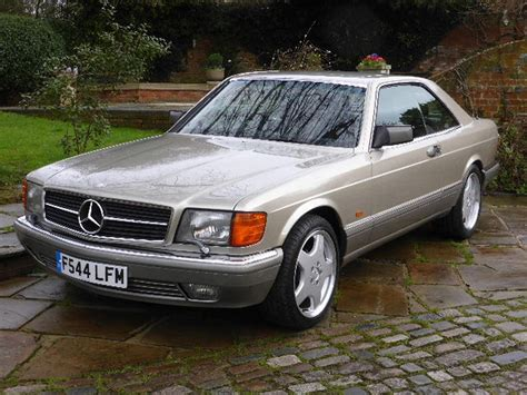 Mercedes 500 Sec 1989 Mercedes 500 Sec For Sale Classic Cars For
