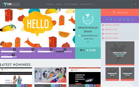 design inspiration websites 2014 17 amazing sources of web design inspiration webflow blog
