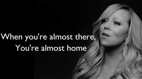 carey almost home lyrics
