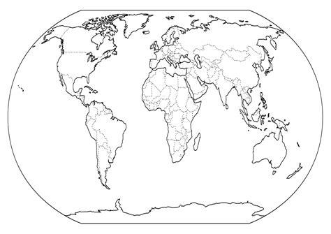imagenes de un planisferio en blanco y negro geografia material de estudio para tercer a 241 o de escuela