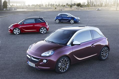 adam opel opel vauxhall adam is here