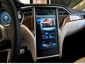 Electric Car Tesla Interior How To Your Car Stereo With Your Smartphone
