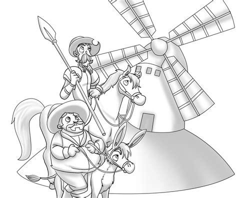imagenes de don quijote a lapiz dibujos para colorear don quijote dela mancha buscar con