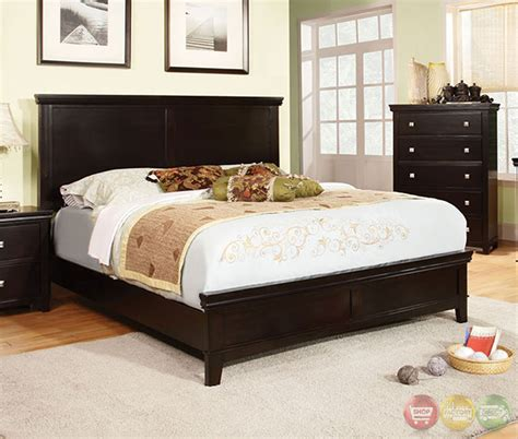 espresso bedroom set spruce transitional espresso bedroom set with brushed