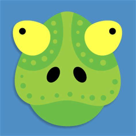 Maskara Cameleon chameleon mask
