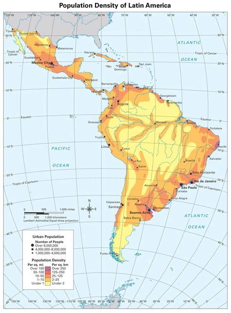 population map of south america america population thinglink
