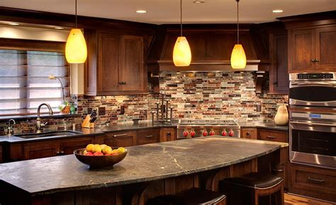 apartment kitchen rustic informal home decorating ideas