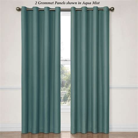 Grommet Window Curtains Dane Thermaback Room Darkening Grommet Curtain Panels