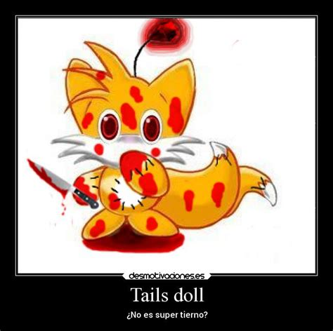 Tails Doll Meme - like a boss carteles y desmotivaciones de tails doll