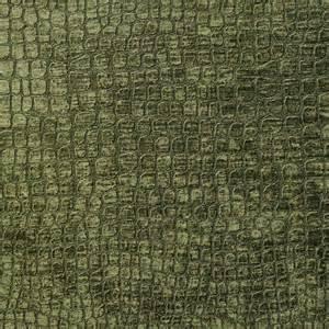 green alligator print shiny woven velvet upholstery