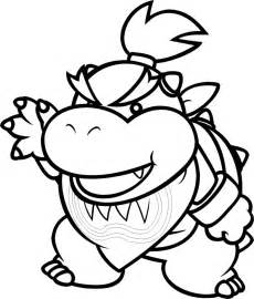 bowser jr print free coloring pages art coloring pages