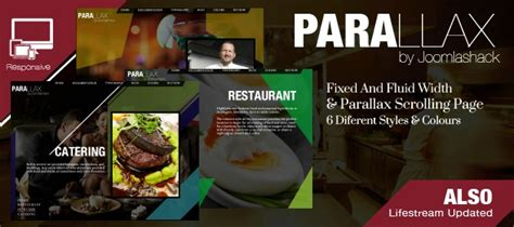 template joomla parallax parallax scrolling page template for joomla 3 0 r3ady