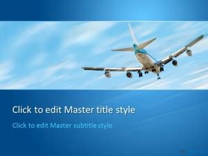 powerpoint templates free aviation free aviation ppt template