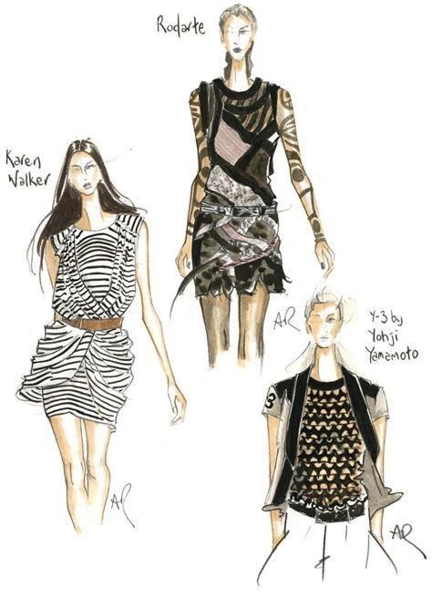 fashion illustration nyc patsyfox top tips at ny fashion week p2