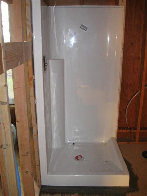 Plumbing For Shower Stall by Shower Stall Installation Lincoln From Ronald T Curtis