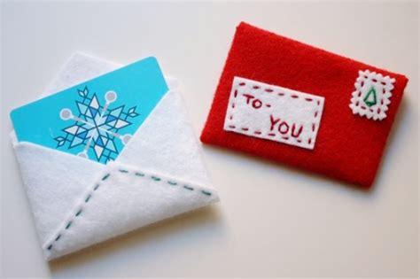 Gift Card Envelopes Diy - make this for the holidays festive felt gift card envelope diy paper and stitch