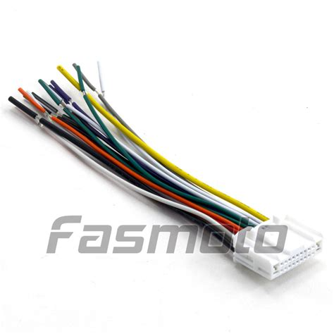wiring harness adapter for car stereo harness