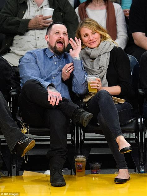 Cameron Diaz Dating Uma Ex by Cameron Diaz Opens Up About Marrying Benji Madden Just Two