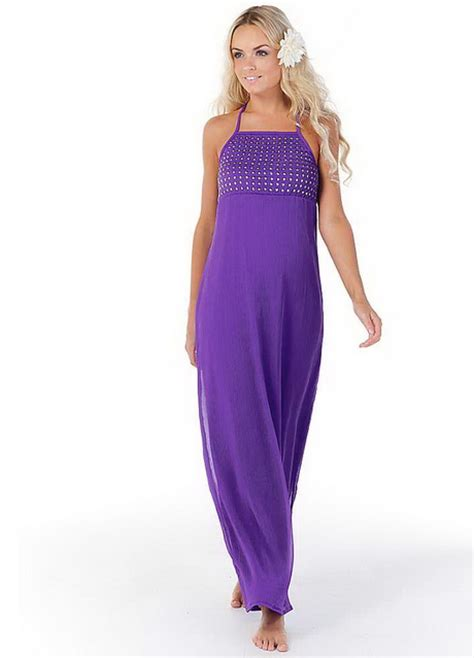 Purple Dresses From Oli purple chiffon maxi dresses
