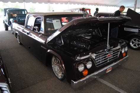 1962 dodge d200 goodguys award winners score again at barrett jackson