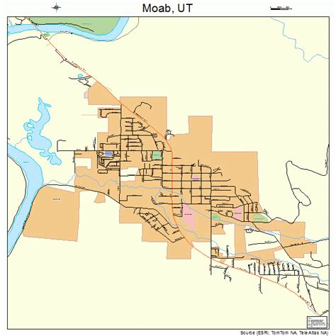 map of moab moab utah map 4950700