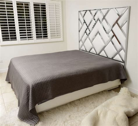 Faux Leather Headboards For King Size Beds by King Size D I A Headboard In Chrome And Faux Leather At