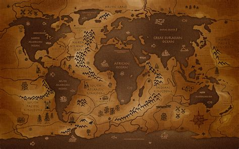 hd wallpapers earth map map of middle earth wallpaper 183