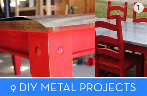 diy steel projects roundup 9 diy metal projects to try 187 curbly diy design