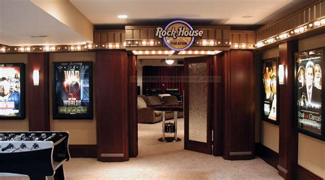 lavish home theater entrances homes