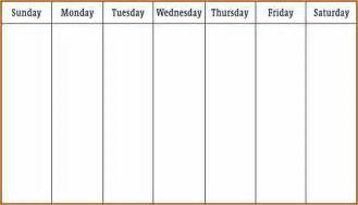 3 week calendar template 5 1 week calendar template basic appication letter