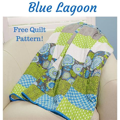 Lagoon Quilt by Blue Lagoon Titlepg Our Products Fabric Palette