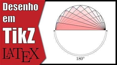 tutorial latex tikz tri 226 ngulo inscrito na semicircunfer 234 ncia latex tikz