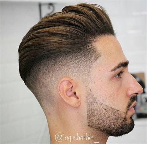 mens hair cuts with pushed bach over ears os 16 cabelos masculinos de 2017 moda sem censura blog