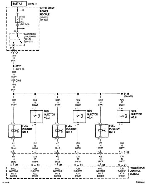 injector wiring diagram 2002 chrysler town country