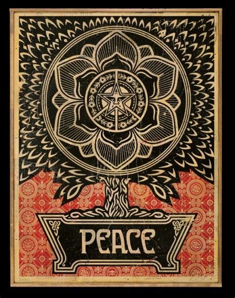 shepard fairey peace goddess print 787 best images about striving to maintain my inner peace
