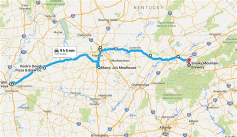 take this 3 day kentucky restaurant road trip the greatest 3 day tennessee food road trip